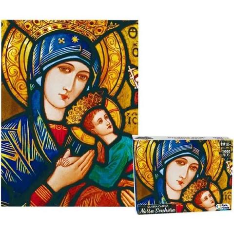 Quebra Cabeça - Nossa Senhora - 1000 Peças - 0983.1 Pais e Filhos