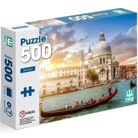 Quebra Cabeça Veneza 500 Peças 0297 - Nig