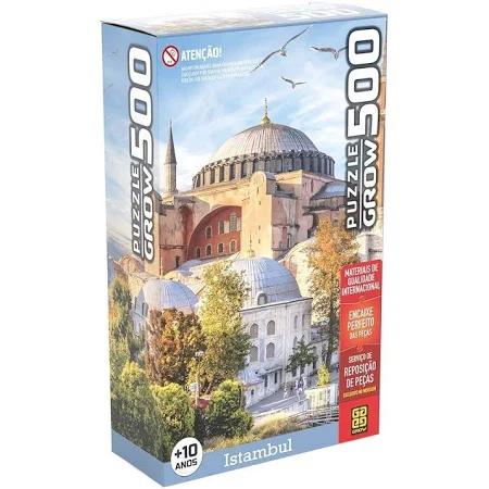 Quebra Cabeças 500 Peças Istambul - 3918 Grow