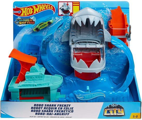 Robo Tubarao Pista C/ Lancador Ref.Gjl12 Mattel