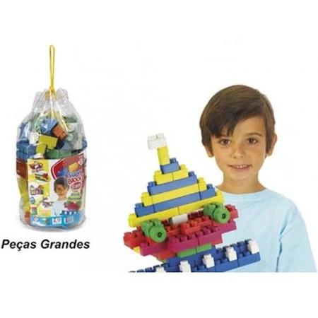 Super Blocks 80 Peças 2500 Riber Brink