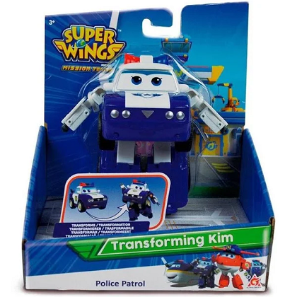 Super Wings Change Em Up Kim - 84913 Fun