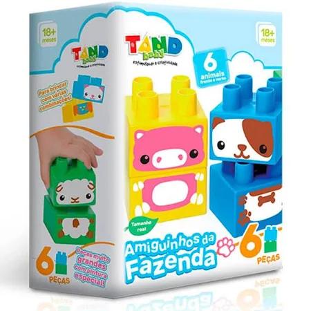 Tandy Baby Amiguinhos Da Fazenda Ref.2416 Toyster