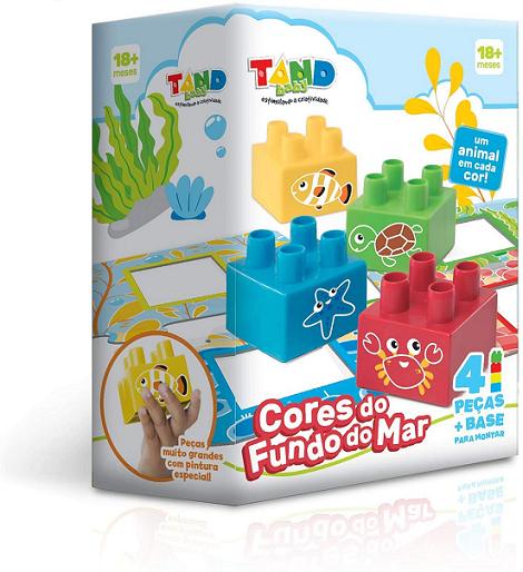 Tandy Baby Cores Do Fundo Do Mar Ref.2509 Toyster