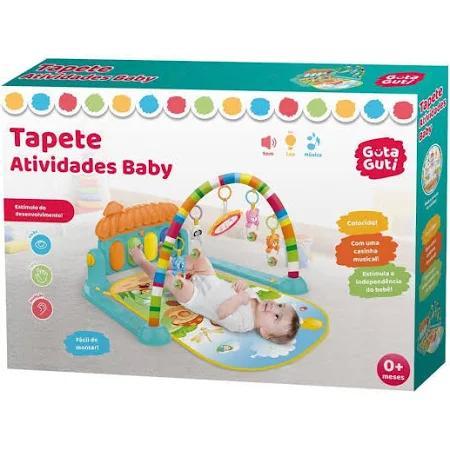 Tapete infantil de atividades baby colorido divertido com melodias - Dmb5795 Dm Brasil