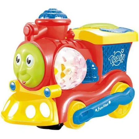 Trenzinho Bate E Volta Vermelho Ref.Dmt5101 Dm Brasil