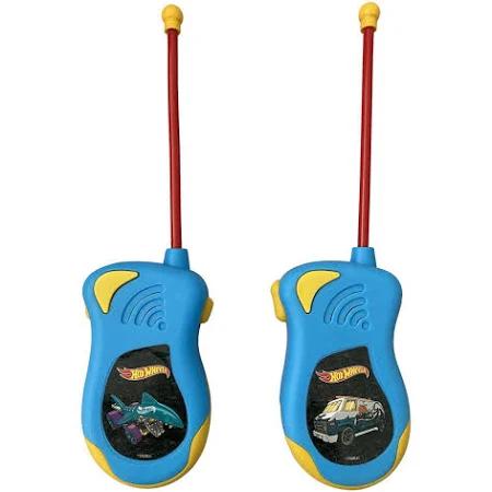 Walkie Talk Infantil Hot Wheels Candide - 2 Unidades - 4524 Candide