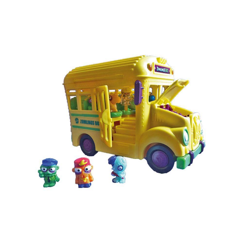 Zomlings Ônibus Zombie Fun Divirta-Se