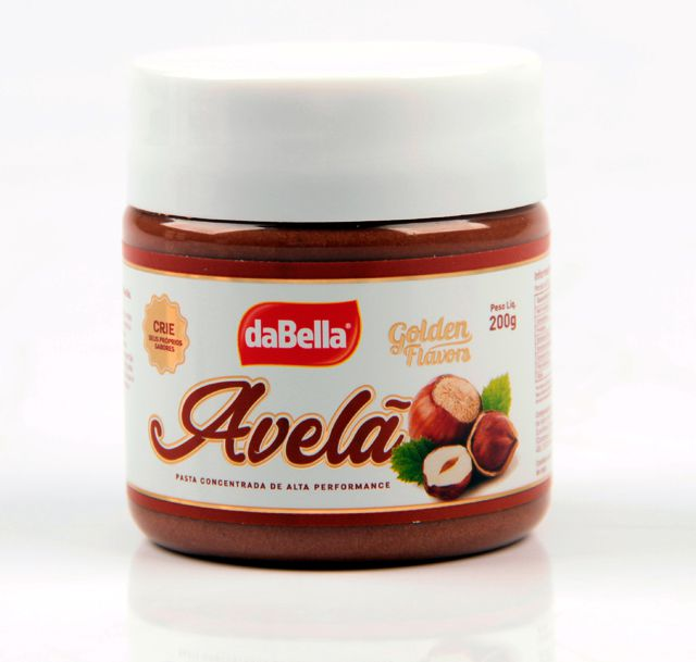 Pastas Saborizantes Golden Flavors - AVELÃ