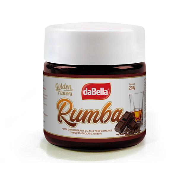 PASTAS SABORIZANTES GOLDEN FLAVORS - RUMBA- Sabor Chocolate ao Rum