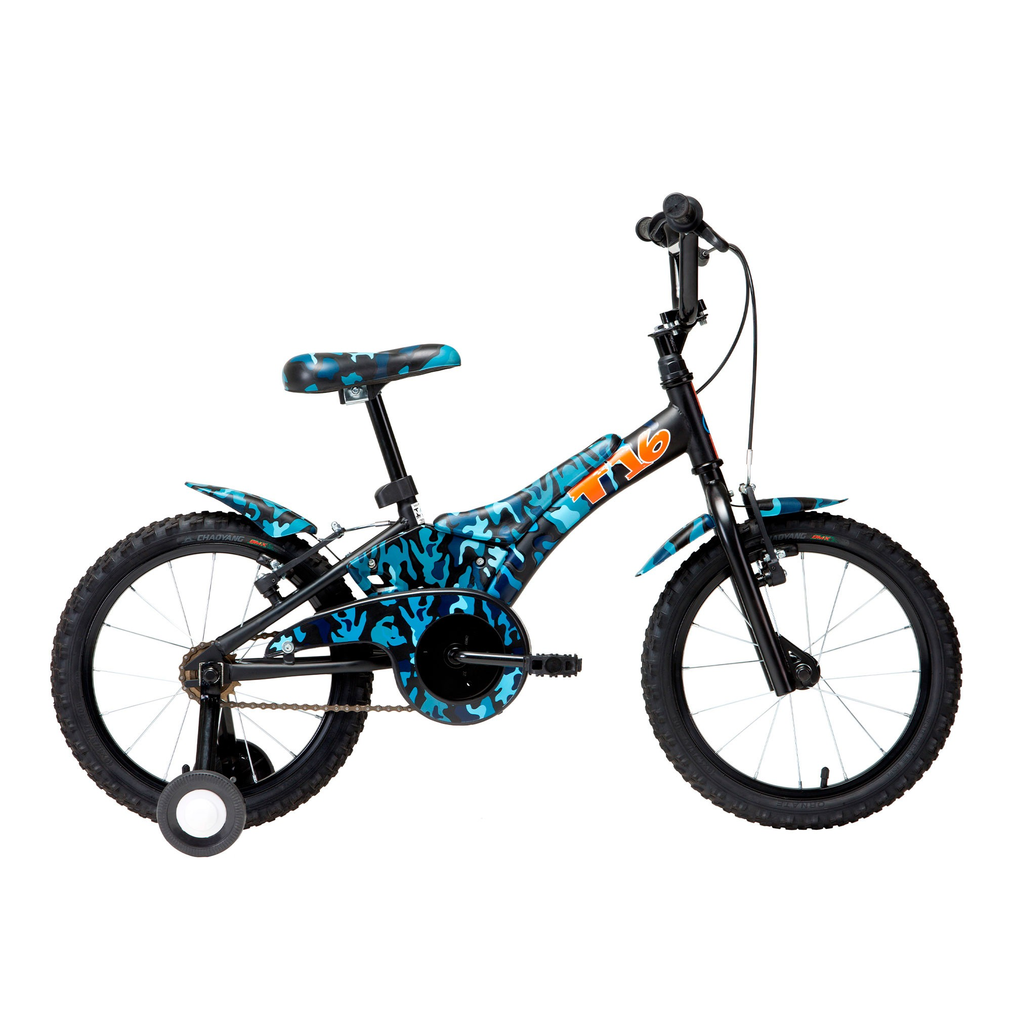 Bicicleta infantil Groove T16 Camuflada