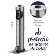 Dispenser  Toten para Álcool em Gel para Cadeirantes e Crianças - Marchesoni