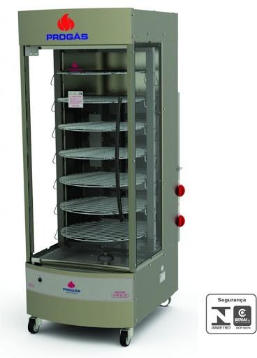 Assador de carne Multiuso giratório 70Kg PRP242 - Progás