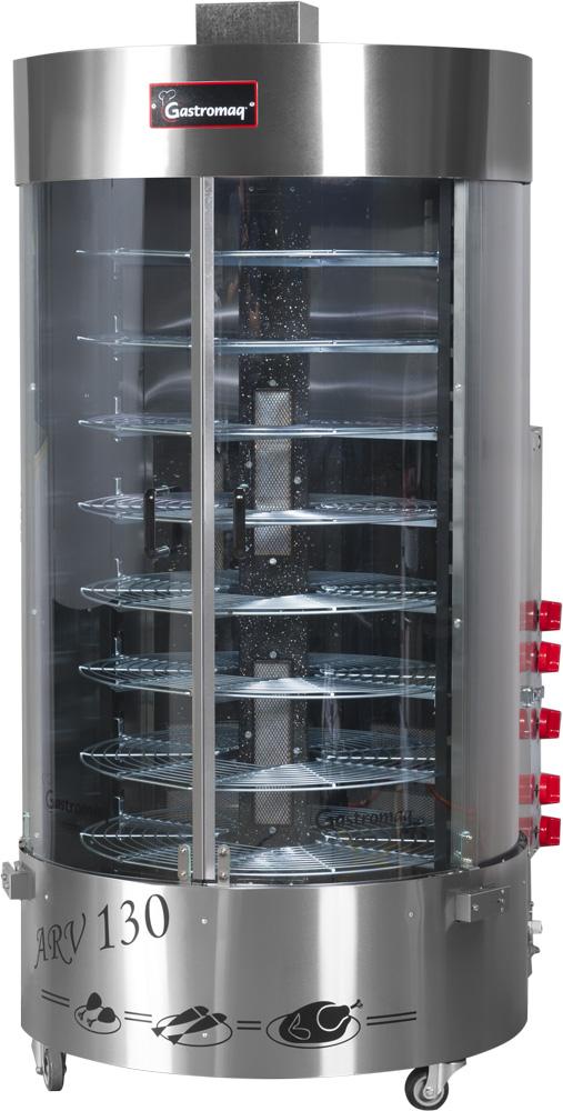 Assador Rotativo a gás ARV130 CQC Gastromaq