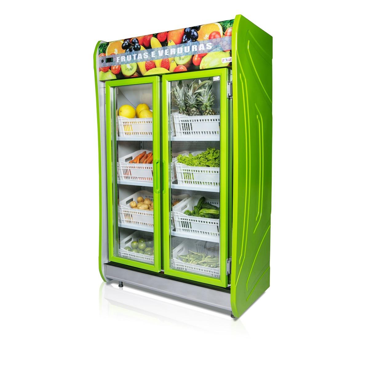 Auto Serviço 2 Portas Para Frutas e Verduras - Polar