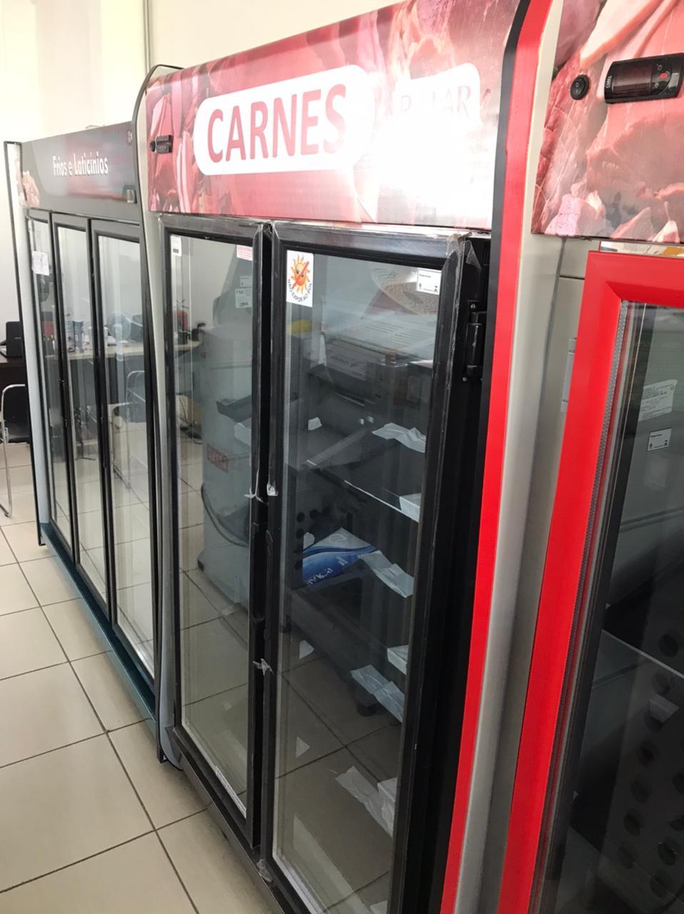Auto Serviço para Carnes 2 Portas Preto - Polar