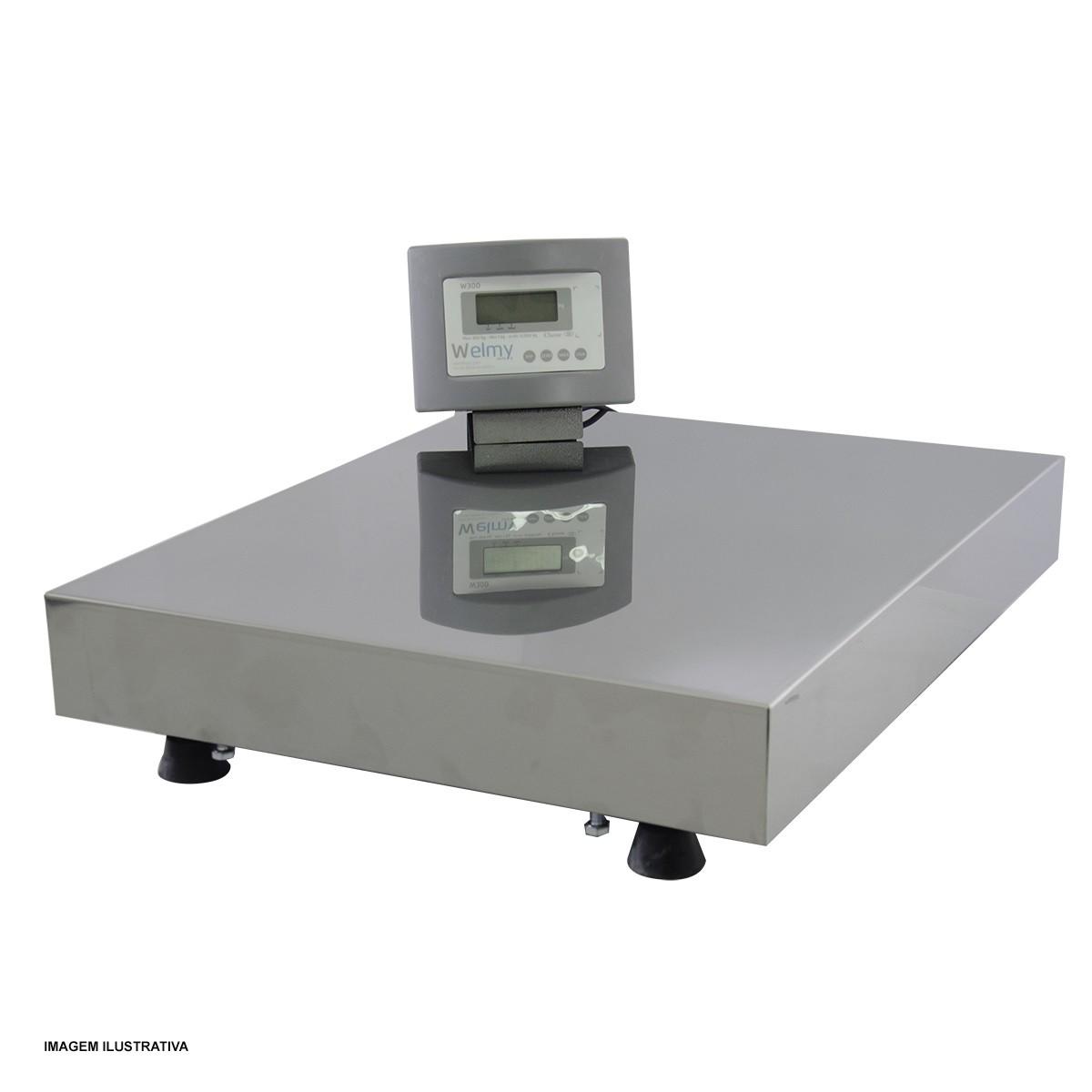 Balança Plataforma 40x50 300Kg - Welmy