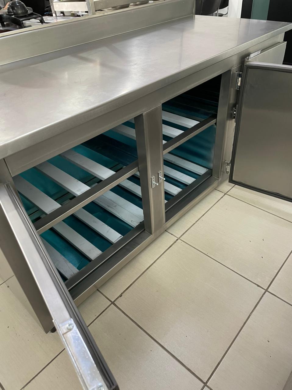 Balcão de Encosto Refrigerado 1,80m - Promaq