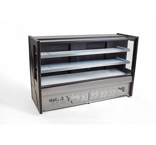 Balcão Vitrine refrigerada 2 placas frias 1,25m PBR-125 2P Platinum - Polar