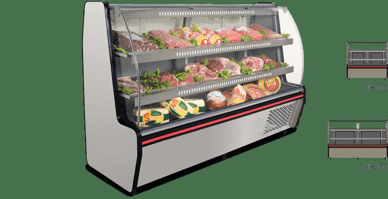 Balcão Refrigerado Visorâmico 2 Pistas VIS – 200 – Conservex