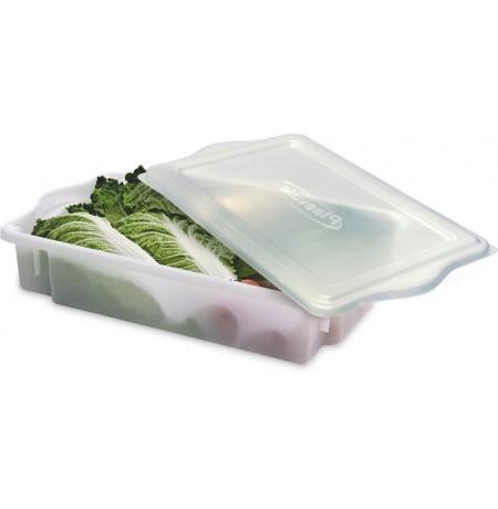 Caixa plástica empilhável 10 Litros Com tampa - Plasvale