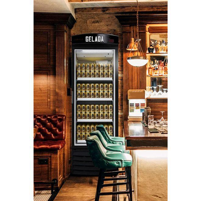 Visa cooler Cervejeira 572 Litros porta de Vidro - Metalfrio