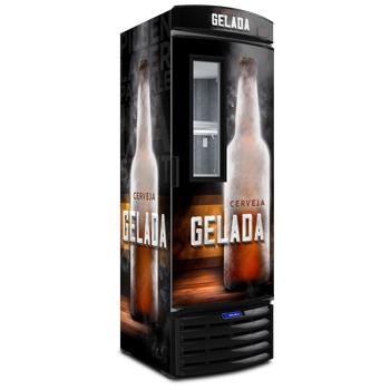 Cervejeira com Visor Expositor Slim 434l - Metalfrio