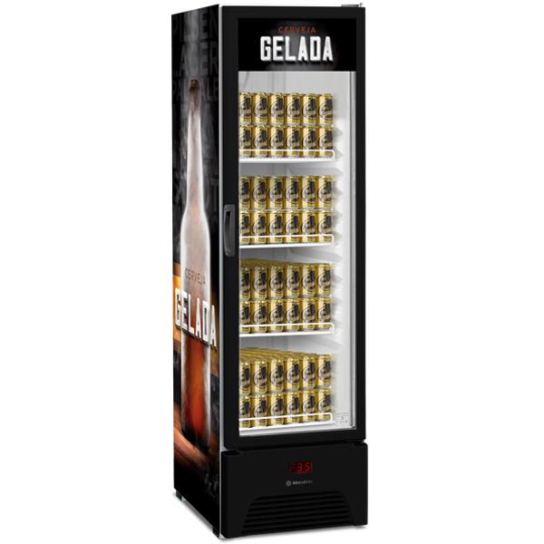Cervejeira Expositora Slim 324l - Metalfrio