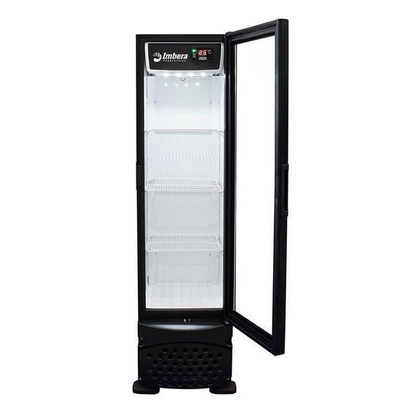Cervejeira Porta de Vidro Preta 230L CCV144 PV - Imbera