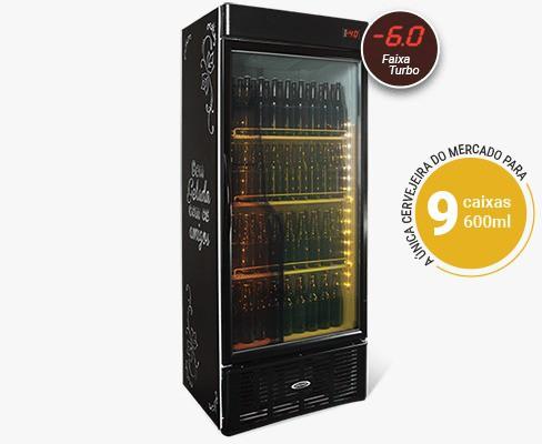 Cervejeira  Refrigerada Porta De Vidro CRV600 - Conservex