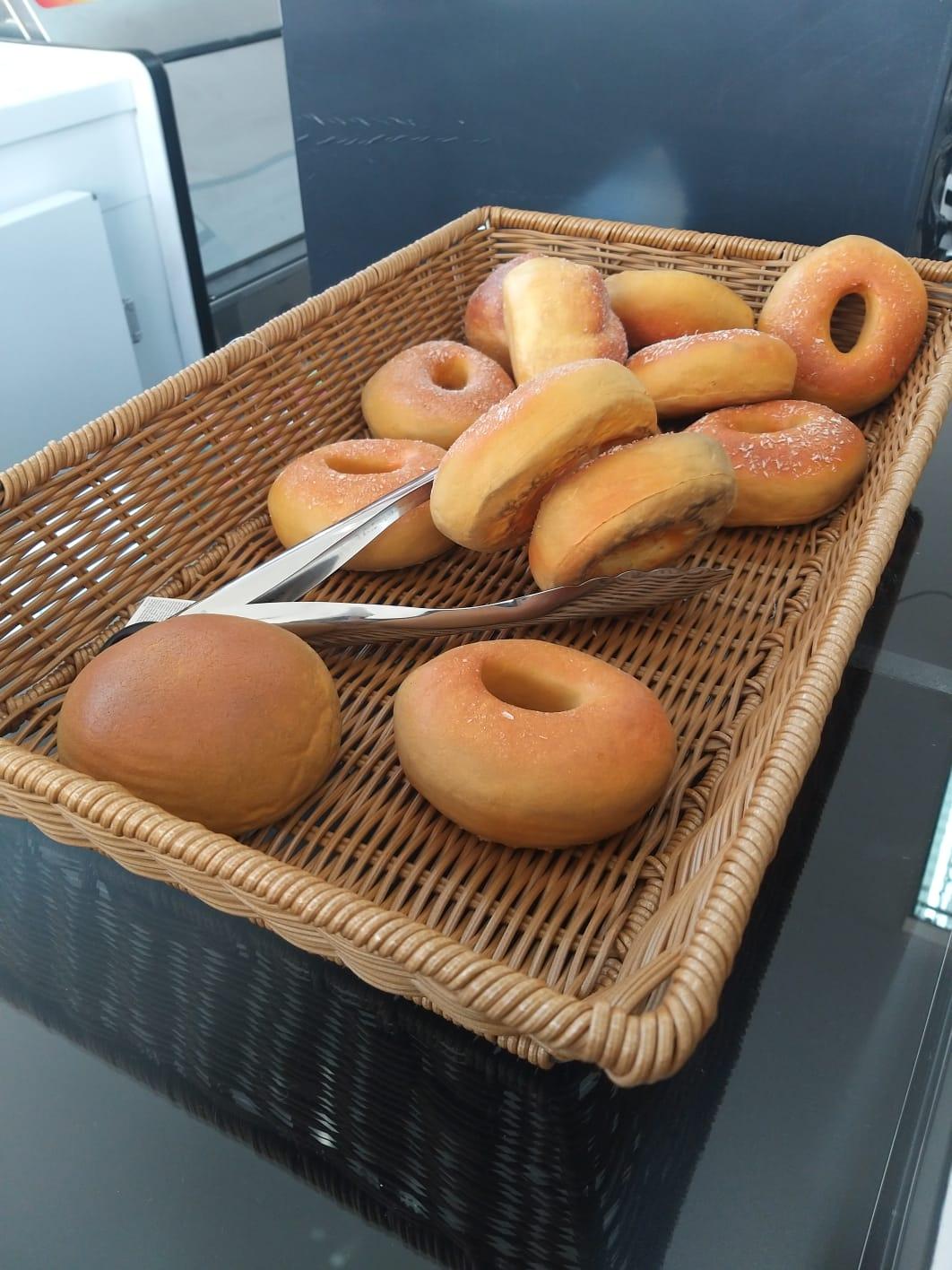 Cesta de pão reta baixa 3065