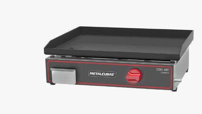 Chapas Bifeteiras Compactas a Gás CBG450C - Metalcubas