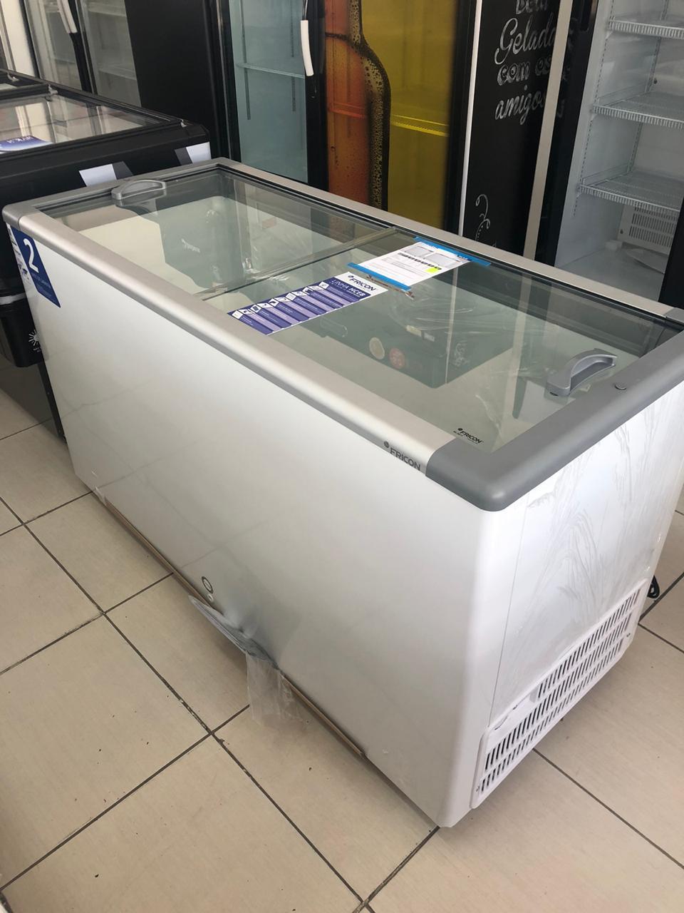 Freezer Horizontal p/ Sorvete 503L HCEB503 Fricon