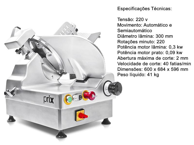Cortador De frios semiautomático 9300G - Toledo
