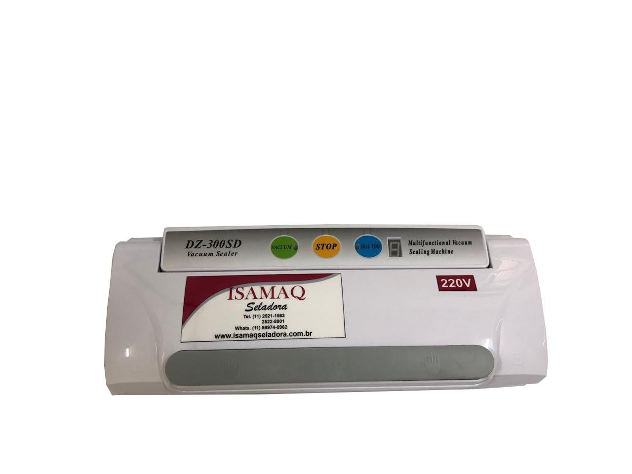 Embaladora a vácuo Portátil DZ 300 SD Isamaq