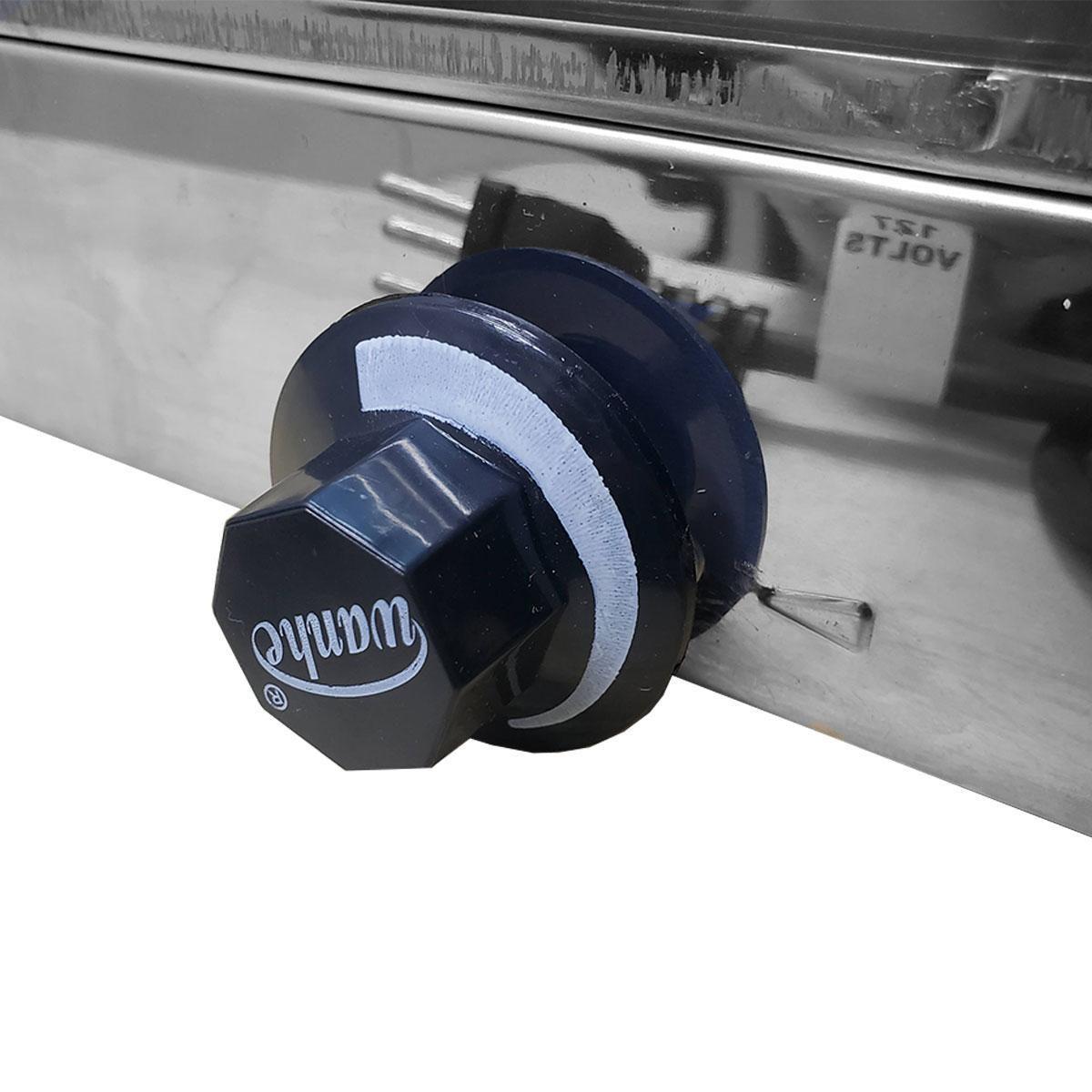 Estufa 03 bandejas vidro curvo 220v - SUPRITEC
