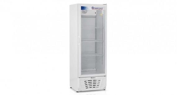 Expositor Refrigerado de Bebidas 414 Litros Branco GPTU-40 - Gelopar