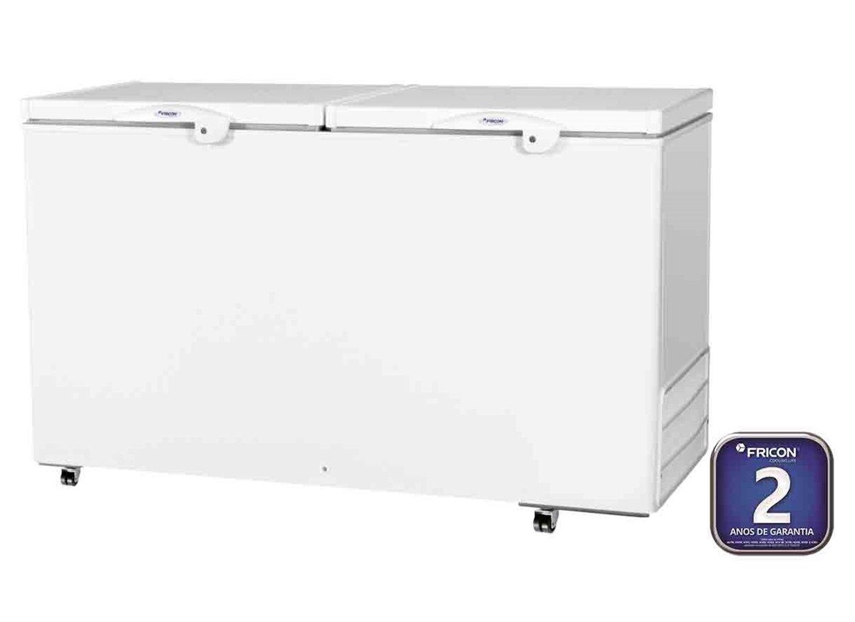 Freezer Horizontal 503 litros 02 Tampas cegas HCED 503 220V - Fricon
