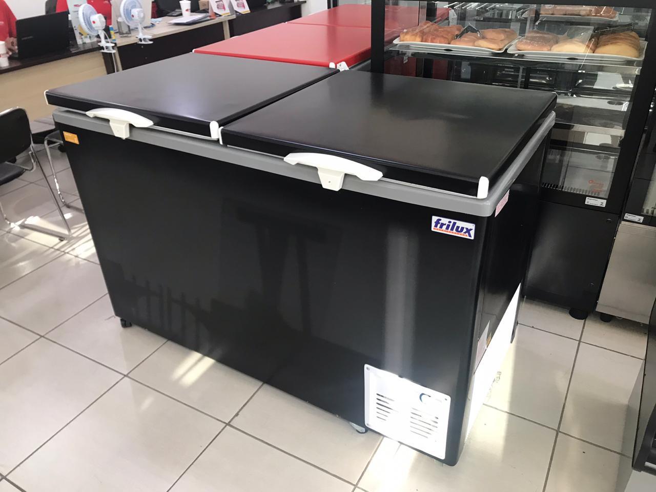 Freezer horizontal 588 Litros 02 tampas 220v Frilux