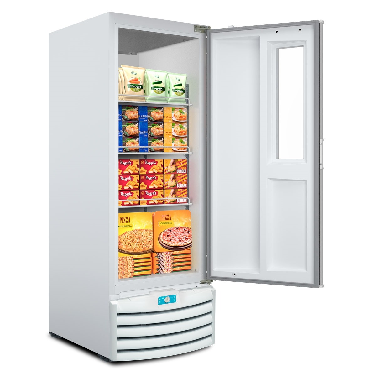 Freezer Vertical Tripla Ação com Visor 509l - Metalfrio