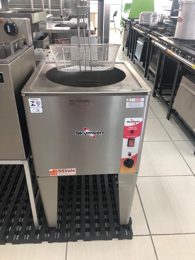 Fritador Elétrico Água E Óleo Inox FRP24 - Skymsen
