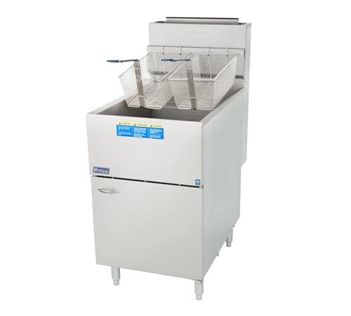 Fritadeira Profissional a gás Zona Fria 150.000 BTU – 65C+SLP – PITCO