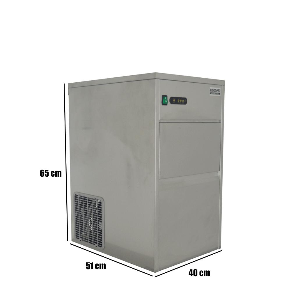 Máquina de gelo 50kg/Dia 220v FGB50 Inox GANHE 1 PÁ DE BRINDE