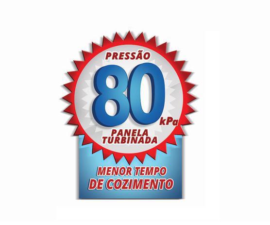 Panela de pressão 20Lts Pol. Tampa Externa - Alumínio Nacional