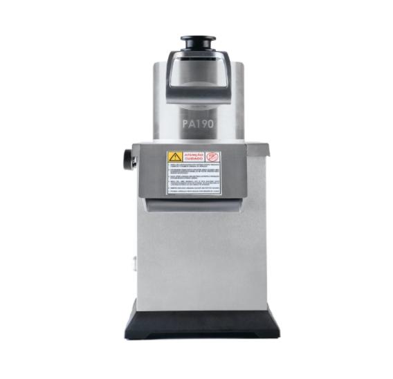 Processador de alimentos industrial 6 discos, bivolt, Inox (PA190) -  CAF
