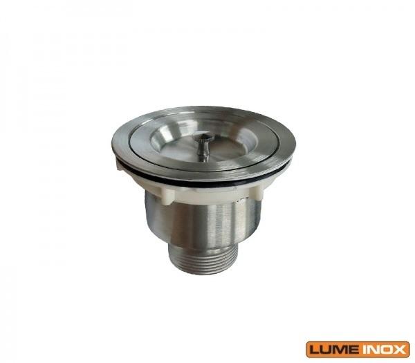 Ralo Completo Para Pia industrial 304RALO - Lume inox