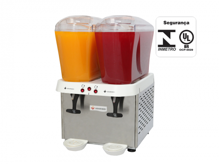 Refresqueira 02 cubas 16 litros 220v RV216 - Venâncio