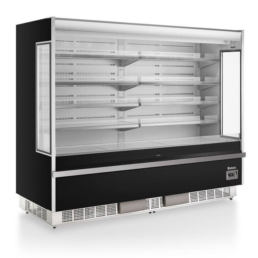 Refrigerador Vertical Aberto GSTO-2400  - Gelopar