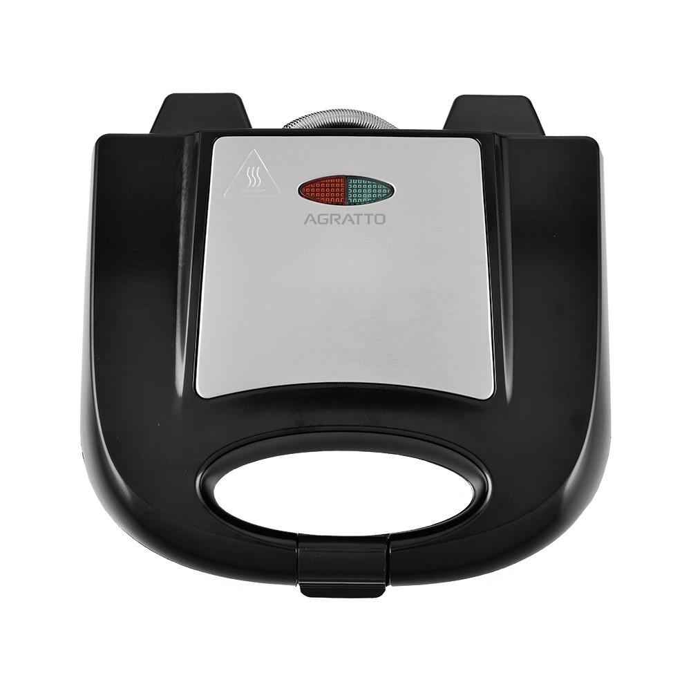 Sanduicheira elétrica 220v Inox - Agratto