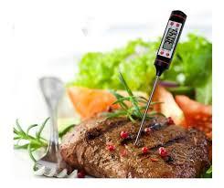 Termometro culinário digital 23cm - SS VALE